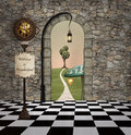 Welcome to wonderland Royalty Free Stock Photo