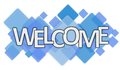 Welcome word Royalty Free Stock Photo