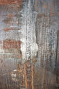 Welded seam on a pipe of large diameter chromemolybdenum steel Royalty Free Stock Photo