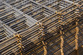 Welded wire mesh Stock Photos
