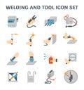 Welding vector icon