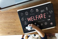 Welfare Donations Charity Foundation Support Concept Royalty Free Stock Photo