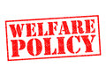 WELFARE POLICY Royalty Free Stock Photo