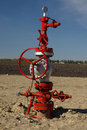 Wellhead Stock Photo