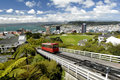 Wellington Cable Car Stock Images
