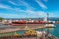 Wellington Port New Zealand Royalty Free Stock Photo