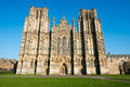 Wells cathedral in somerset england Royalty Free Stock Images
