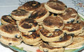Welsh cakes cooked Stock Image