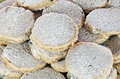 Welsh cakes cooked and ready to eat Royalty Free Stock Photos