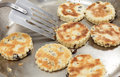 Welsh cakes cooking Royalty Free Stock Photography