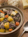 Welsh Cawl in a Casserole Pot Stock Photos
