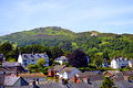 Welsh countryside on the outskirts of Conwy Royalty Free Stock Photo