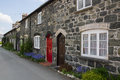Welsh Stone Cottages Royalty Free Stock Photo