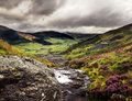 Welsh valley Stock Image