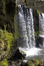 Welsh waterfall Royalty Free Stock Photo