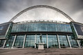 Wembley stadium home of the england national football team Royalty Free Stock Photo