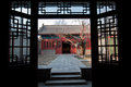 Wen tianxiang temple of scholar general of southern song dynasty duke of xinguo in beijing china Stock Photo