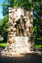 Wendell phillips statue in boston public gardens boston ma the at the Stock Photos