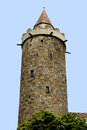 Wendish tower of Bautzen in Germany Royalty Free Stock Photo