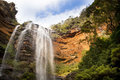 Wentworth Falls, Blue Mountains Stock Image