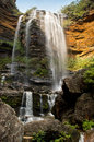 Wentworth Falls Waterfall, Blue Mountains Royalty Free Stock Photo