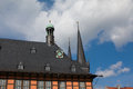 Wernigerode germany town hall in Royalty Free Stock Photography
