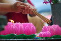Wesak celebration Royalty Free Stock Photo