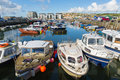West Bay Harbour Dorset Uk Wit...