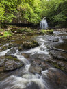 West burton falls on walden beck wensleydale north yorkshire Stock Image