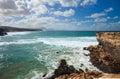 West coast of Fuerteventura at La Pared Royalty Free Stock Photos