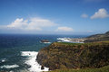 West coast of sao miguel azores islands portugal Royalty Free Stock Photo