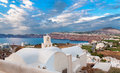 West coast of Thira Royalty Free Stock Photo