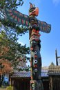 West Coast Totem Pole At Thund...