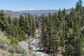 West fork of the walker river in eastern sierra nevada range Royalty Free Stock Image