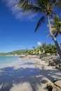 West indies caribbean antigua st georges dickenson bay beach view of Royalty Free Stock Image