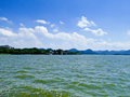 West Lake Cultural Landscape of Hangzhou Royalty Free Stock Photo