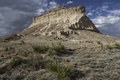 West pawnee butte on the national grassland in northeastern colorado Royalty Free Stock Photos