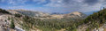 West of Picket Pin Mountain Panorama Royalty Free Stock Photos