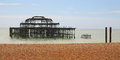 West Pier, Brighton, England Royalty Free Stock Photo