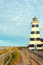 West Point Lighthouse Royalty Free Stock Photo