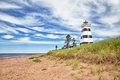 West Point Lighthouse, Prince Edward Island Royalty Free Stock Images