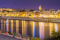 West side of Seville Royalty Free Stock Photo