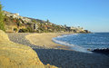 West Street Beach in South Laguna Beach,California. Royalty Free Stock Photo