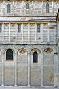 West Wall, Pisa Cathedral, Italy Stock Photography