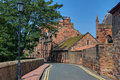 West Walls, Carlisle Royalty Free Stock Photos
