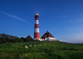 Westerhever Lighthouse Royalty Free Stock Photo