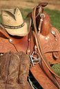 Western Gear Royalty Free Stock Photo