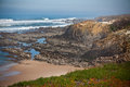 Western Portugal Ocean Coastline Royalty Free Stock Photography