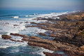 Western Portugal Ocean Coastline Royalty Free Stock Photo