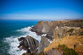 Western Portugal Ocean Coastline Stock Photos